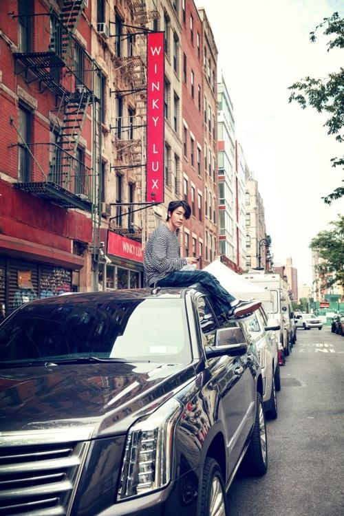 """This concept image for Super Junior-D&E's new album """"Bout You"""" is provided by Label SJ. (Yonhap)"""