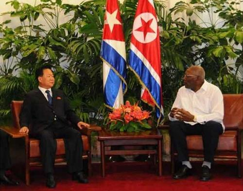 North Korea's No. 2 man visiting Cuba: report