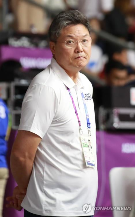 (Asian Games) Unified Korean basketball coach blames OT loss on defensive breakdowns