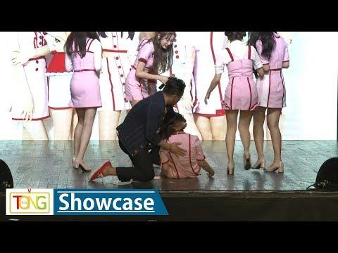 Sha Sha's Chinese member collapses during media showcase