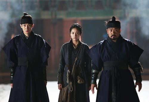 "A scene from ""Monstrum"" (Yonhap)"