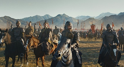 "A scene from ""The Great Battle"" (Yonhap)"