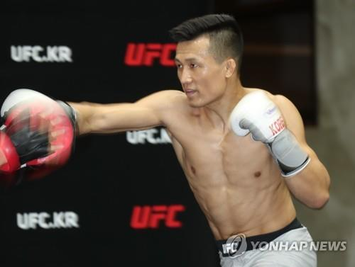 Recovering from knee injury, Korean Zombie ready for UFC comeback