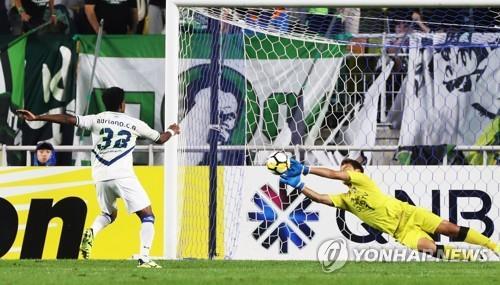 Suwon edge past Jeonbuk on penalties to reach AFC Champions League semis