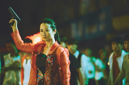 """A still from """"Ash is Purest White"""" provided by Busan International Film Festival. (Yonhap)"""