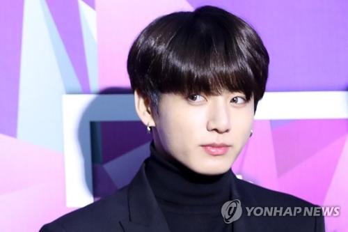 This file photo shows Jungkook of BTS. (Yonhap)