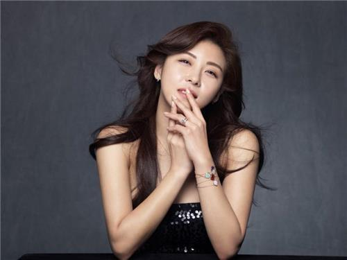 The photo provided by Haewadal Entertainment shows actor Ha Ji-won. (Yonhap)
