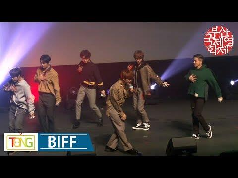 BTOB performs on special stage for BIFF