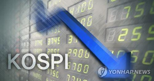 Seoul shares fall on lingering trade worries