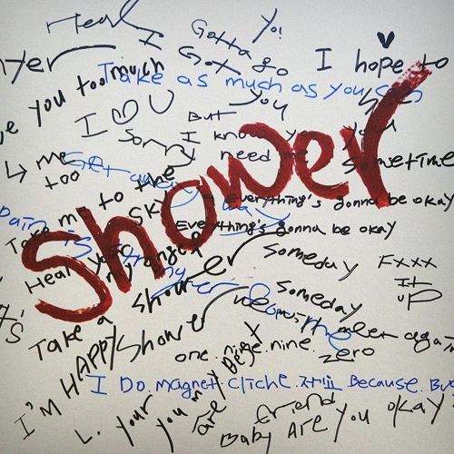 """This jacket image of Jeon Ji-yoon's new digital single """"Shower"""" is provided by Jeon. (Yonhap)"""