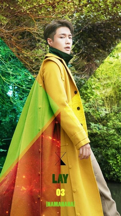 """This promotional image for Lay's new album, """"Namanana,"""" was provided by SM Entertainment. (Yonhap)"""