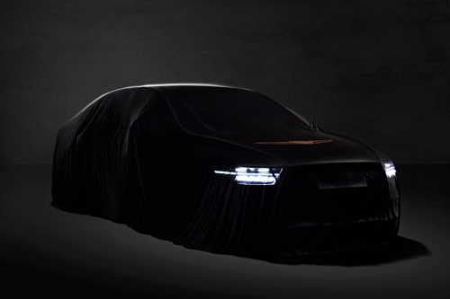 Genesis G90 teaser image (Yonhap)