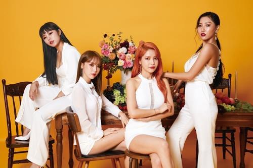 This image of K-pop girl band Mamamoo was provided by RBW. (Yonhap)