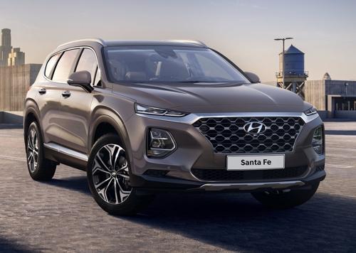 Hyundai Motor Co.'s Santa Fe SUV (Yonhap)