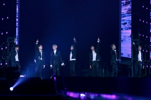 BTS concert in Japan draws crowds despite controversy over A-bomb image