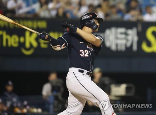 Home run king crowned MVP in S. Korean baseball