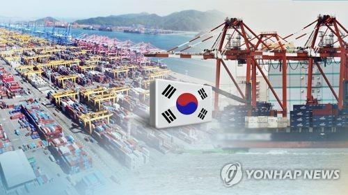 S. Korea's exports up 5.7 pct in first 20 days of November
