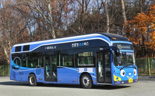 (LEAD) Hyundai to supply 30 hydrogen buses to six cities next year