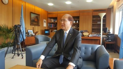(Yonhap Interview) New IMO head vows to finish action plan on climate change