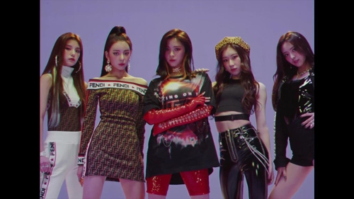JYP unveils new five-piece K-pop girl band ITZY