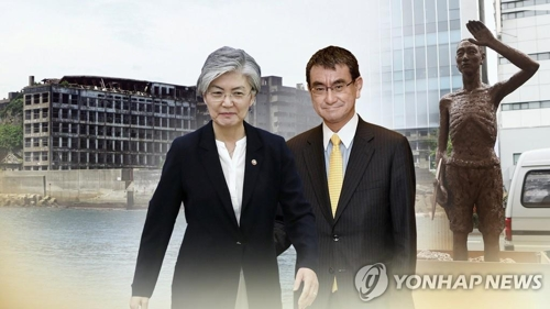 S. Korea, Japan set for foreign ministerial talks in Davos amid strained ties