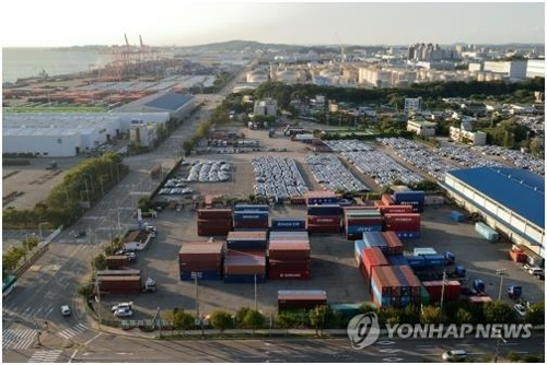 S. Korea's exports drop 4.9 pct in first 20 days of March