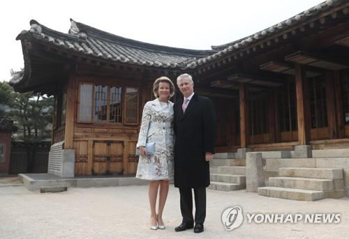(LEAD) Belgian king becomes honorary Seoul citizen