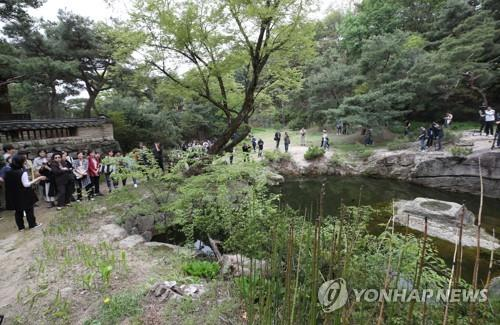 (Yonhap Feature) Unveiled pre-modern garden in Seoul embodies Korean aesthetics