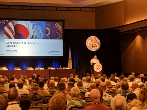 N.K.'s recent weapons tests haven't raised tensions on peninsula: USFK chief