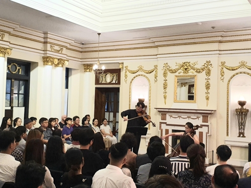 (Yonhap Feature) Classical concert at Seokjojeon reminiscent of past glories, grief