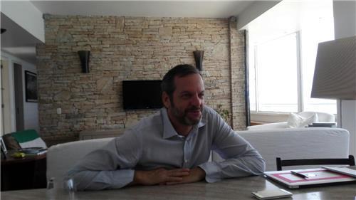 Le producteur exécutif des cérémonies des Jeux olympiques de Rio de Janeiro, Marco Balich