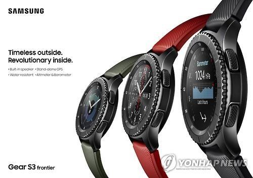 samsung gear s3 une montre plus intelligente avec un. Black Bedroom Furniture Sets. Home Design Ideas
