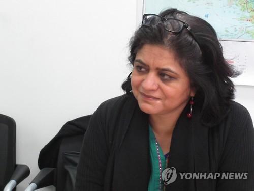 Sara Hossain d'un groupe d'experts indépendants mandatés pour chercher des moyens de punir les auteurs des violations des droits de l'Homme en Corée du Nord
