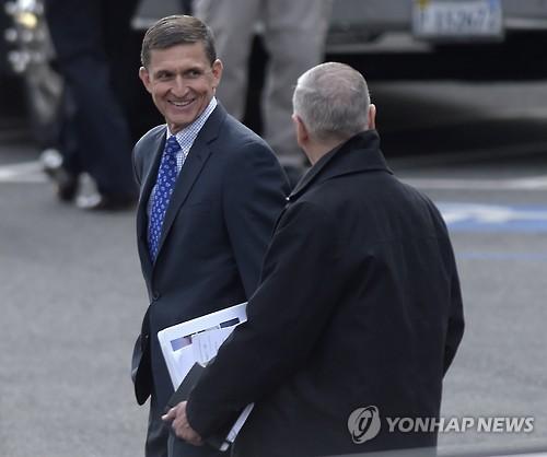 Le futur conseiller à la sécurité nationale des Etats-Unis, Michael Thomas Flynn (Photo d'archives Yonhap)