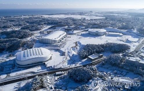 Des patinoires des Jeux olympiques d'hiver de PyeongChang à Gangneung (Photo d'archives)