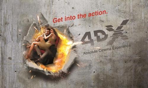 La première salle de cinéma 4DX ouvre en France à Paris !