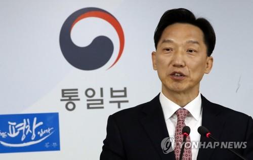 Le porte-parole du ministère, Lee Duk-haeng. (Photo d'archives Yonhap)