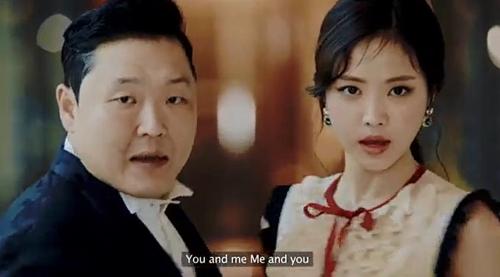 Capture d'écran du clip vidéo «New Face»