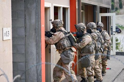 Capture d'image du compte Facebook de la 2e division d'infanterie de l'USFK
