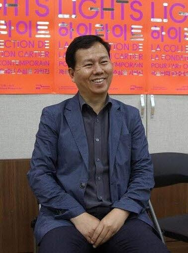 Le conservateur général du musée d'art de la ville de Séoul lors d'une interview accordée le 30 mai 2017.