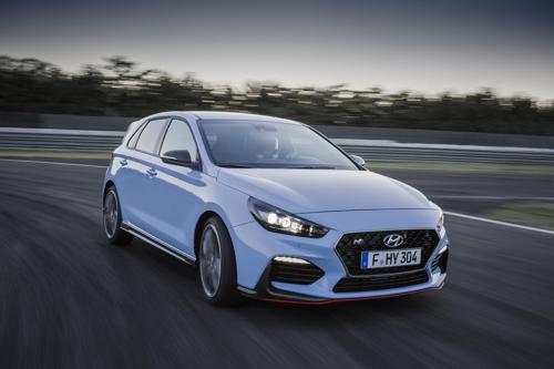 Véhicule de haute performance Hyundai i30 N © Hyundai Motor Co.