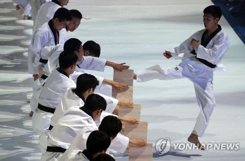 Cérémonie d'ouverture des Championnats du monde de taekwondo 2017