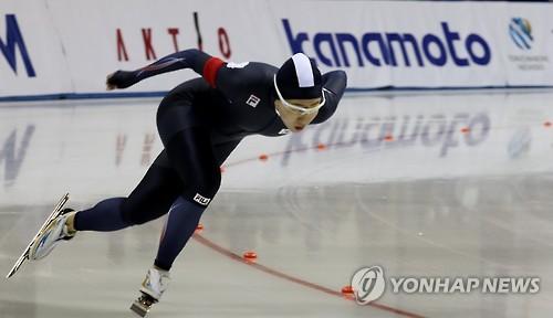 La patineuse de vitesse, Lee Sang-hwa (Photo d'archives)