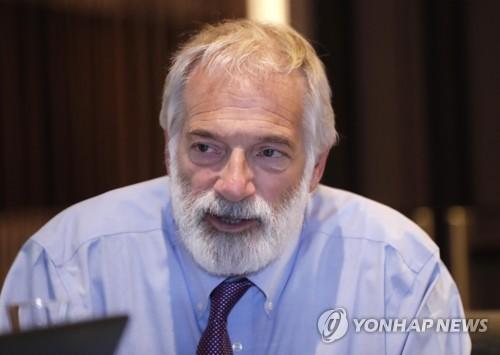 L'ancien négociateur nucléaire américain le jeudi 19 octobre 2017 à Séoul.