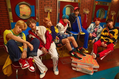 Le groupe de K-pop Bangtan Boys (BTS) © Big Hit Entertainment