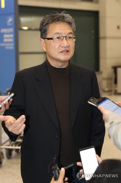 Le représentant spécial pour la politique nord-coréenne du département d'Etat américain Joseph Yun.