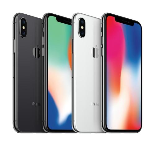 Les iPhone X d'Apple Inc. © SK Telecom Co.