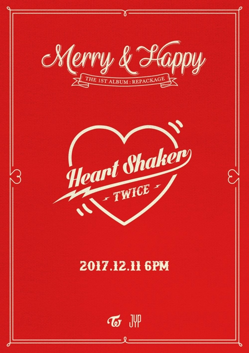 La nouvelle chanson de TWICE, «Heart Shaker». © JYP Entertainment