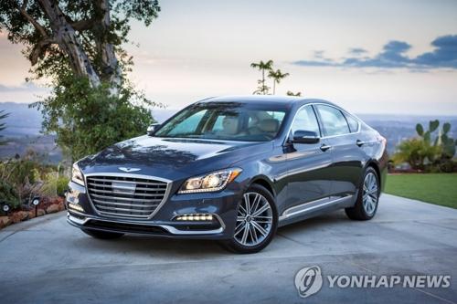 Genesis G80 de Hyundai Motor © Hyundai Motor Co.