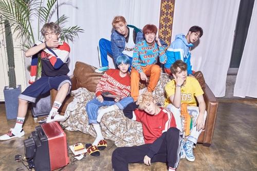Le groupe de K-pop Bangtan Boys (BTS). © Big Hit Entertainment